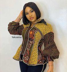 African Fashion Ankara, Latest African Fashion Dresses, African Print Fashion, African Wear, African Attire, Short African Dresses, African Blouses, African Tops, African Print Dresses