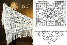 Motif and shawl