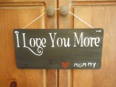 I Love You More Heart Mommy by AngelPaws6 on Etsy