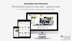 Presentamos NUEVA WEB: www.bsvproduccion.com