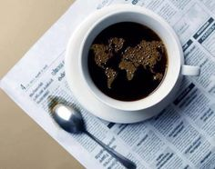 Shared by Before Sunrise. Find images and videos about coffee, world and cafe on We Heart It - the app to get lost in what you love. Coffee Break, I Love Coffee, Coffee Art, My Coffee, Morning Coffee, Coffee Cups, Tea Cups, Drink Coffee, Happy Coffee