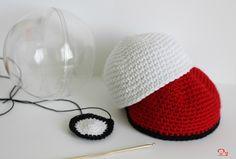 DIY : Crochetez une Pokeball pour ranger des petits trésors