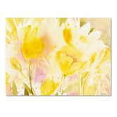 "Found it at Wayfair - ""Yellow Gardens"" by Sheila Golden Painting Print on Canvas"