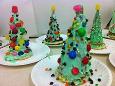 Ideas  Cute  Christmas  Craft  Trees  For  Kids  Ideas Having Fun with Christmas Crafts for Kids
