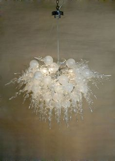 Picture Of White Bubble And Tail Estancia Chandelier