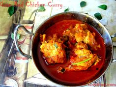 Siris Food Flavours: Goa Red Chicken Curry | Celebrity Chef Recipes