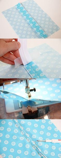 Tips for Sewing Enthusiasts Sewing Basics, Sewing Hacks, Sewing Tutorials, Sewing Patterns, Sewing Tips, Sewing Online, Zipper Tutorial, Cute Sewing Projects, Sewing Machine Accessories