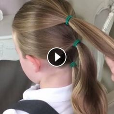 12 Best Children& Hairstyle For School And Perfect Super Simple - Empire Vital Sweet Hairstyles, Cool Braid Hairstyles, Fast Hairstyles, Little Girl Hairstyles, Hairstyles For School, Children's Hairstyle, Sweethearts Hair Design, Girls Hairdos, Hair Videos