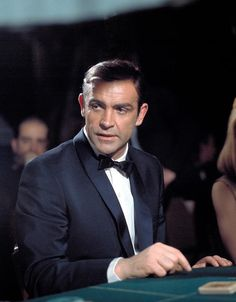 Connery in Thunderball- 1965