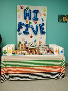 5th Birthday Boys Ideas Hi Five Favorite Things Party Lincoln