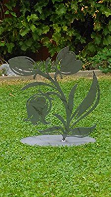 Metallblume Stepping Stones, Bird, Outdoor Decor, Plants, Home Decor, Projects, Flowers, Stair Risers, Decoration Home