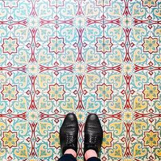 Instagram account of Parisian floors.