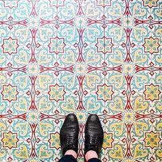 Instagram account of Parisian floors.