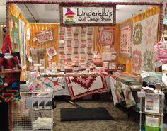 Linderella Booth at Statesville Show Jan 2013!