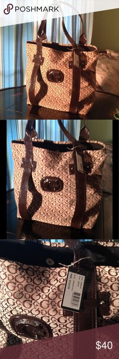 Guess bags 💼 brand new tag still on Guess  brown bag 💼 brand new tag still on G by Guess Bags Totes