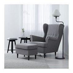STRANDMON Wing chair, Nordvalla dark grey - Nordvalla dark grey - IKEA