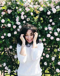 Curly hair - Bruna Vieira com cabelo ondulado. San Francisco - USA