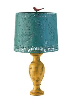 Punchcard Mountain House Lamp - Mineral by Bohemian Lighting and Decor on $105.00 @HauteLook