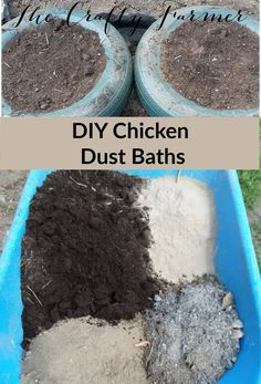 Creating Dust Baths for Chickens – The Crafty Farmer – Useful Crap – Natur Dust Bath For Chickens, Raising Backyard Chickens, Keeping Chickens, Pet Chickens, Nesting Boxes For Chickens, Herbs For Chickens, Urban Chickens, Backyard Farming, Diy Toys For Chickens