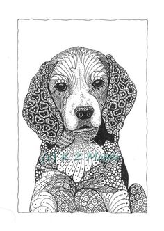 dog zentangle images - Google Search