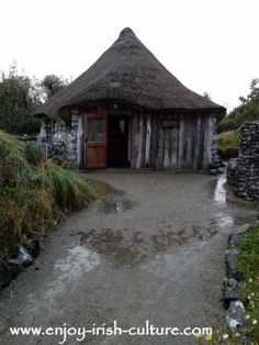 Brigid's Garden Roundhouse, Roscahill, County Galway, Ireland. Click on the photo to read the full story on Saint Bridget of Ireland and her miracles.