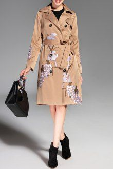 Join Dezzal, Get $100-Worth-Coupon GiftDouble Breasted Embroidered Trench Coat with BeltFor Boutique Fashion Lovers Only: Designer Collection·New Arrival Daily· Chic for Every Occasion