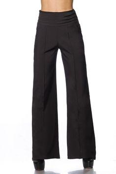 Pants 14758 - www. Office Wear, Leggings Are Not Pants, What To Wear, Pajama Pants, Pajamas, Sweatpants, Suits, Black, Fashion