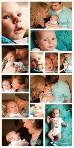 2 month photos * Baby boy photography * Family photography *Grandparent Photos