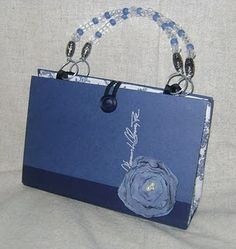 book purse, love the simple clasp and handles