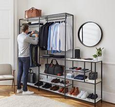 10 Attractive Open Closet Concepts For Advanced House Closet Bedroom, Bedroom Decor, Baby Bedroom, Ideas Armario, Dressing Design, Design Apartment, Apartment Ideas, Wardrobe Design, Closet Designs