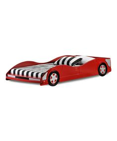 Take a look at this Race Car Twin Bed by Donco Kids on #zulily today! @Rachael Russell Jake needs this ;)