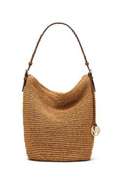 New Ideas Crochet Basket Bag Michael Kors Crochet Tote, Crochet Shoes, Crochet Handbags, Crochet Purses, My Bags, Purses And Bags, Net Bag, Basket Bag, Summer Bags
