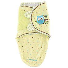 Summer Infant SwaddleMe Pure Love Adjustable Infant Wrap , 7-14 pounds,Owl