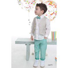Βαπτιστικά Ρούχα Mi Chiamo - Ενδύματα Υψηλής Ποιότητας Michiamo - ΒΑΠΤΙΣΤΙΚΑ ΡΟΥΧΑ - ΒΑΠΤΙΣΤΙΚΑ ΡΟΥΧΑ Fashion Group, Kids Fashion, Toddler Vest, Page Boy, Kids Wear, Summer Collection, Little Boys, Harajuku, Have Fun