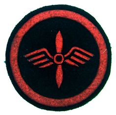 USSR Air Force Naval Aviation patch 100