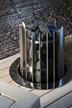 Saunaheater Rocher from Helo. House In Nature, Carl Sagan, Dubrovnik, Saunas, Coffee Maker, Kitchen Appliances, Instagram Posts, Baths, Relax