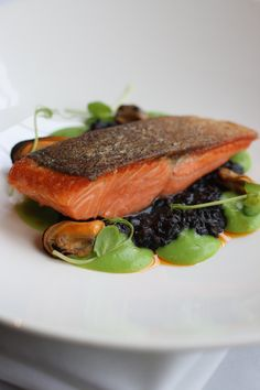 Trout & Pea - Autumn in Eleonore's Restaurant