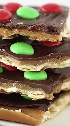 HOLIDAY BOARD: Christmas Crack Toffee Recipe - I Heart Nap Time