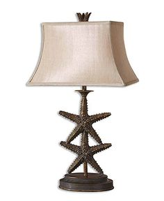 Make the starfish lamp the star of your living room Uttermost Table Lamp BUY NOW!
