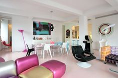 Designer Karim Rashid Lists Loft Full of His Own Designs - House of the Day - Curbed National