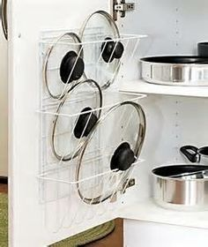 Organizing Pots And Pans Ideas U0026 Solutions   Pot Lids, Organizing And Dishes