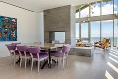 Hamptons Summer House - Marriage of architecture and interior design, with plenty of open space, natural light with carefully selected furniture and lighting. David Howell, Interior Architecture, Interior Design, Natural Light, The Hamptons, Dining Room, Marriage, Space, Lighting