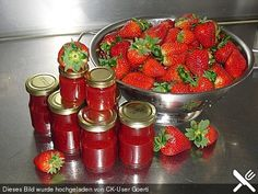 Fruchtig-süße Erdbeermarmelade