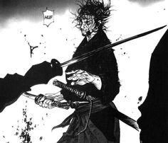 bushidoblues Art Of Fighting, Fighting Poses, Art Anime, Manga Anime, Vagabond Manga, Ronin Samurai, Inoue Takehiko, Samurai Artwork, Miyamoto Musashi