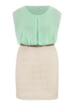 c3b8e2881c lace and chiffon plus size 2fer dress School Dresses