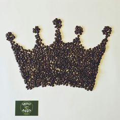 #koningsdag #koffiekroon #koffiebonen #coffee #crown #royaltreat