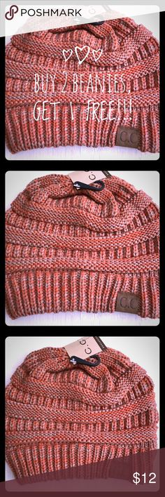beb6a5470d3 ORANGE AND TAN C.C BEANIE! We are having a great sale with ALL of our