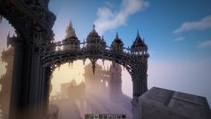 minecraft mountains aerial shaders - Google Search