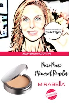 Product Review: Mirabella Pure Press Mineral Powder #glutenfree #mineral #makeup