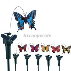 Cheap butterfly roman, Buy Quality butterfly stake directly from China solar bath Suppliers:        Garden Solar Artificial Fluttering Butterfly